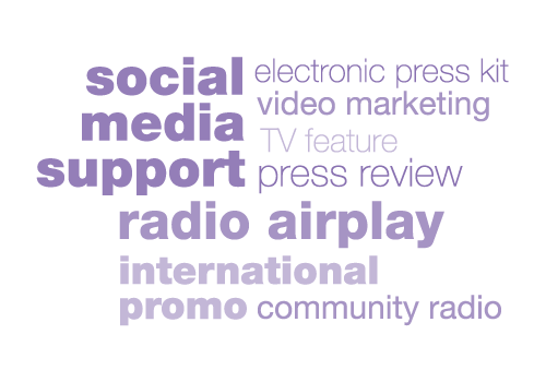 Music promotion, social media promotion